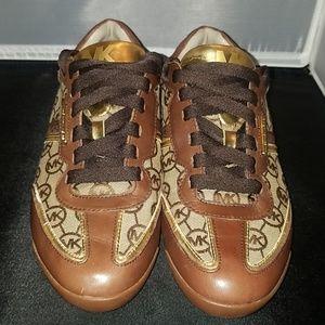 Michael Kors signature sneakers. Size 8.0
